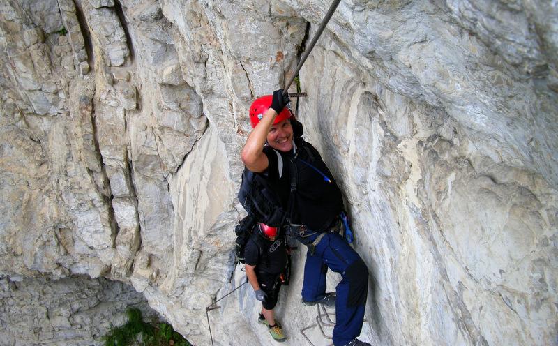Postalm Klettersteig F Variante : Kletterhit für könner der postalm klettersteig u a