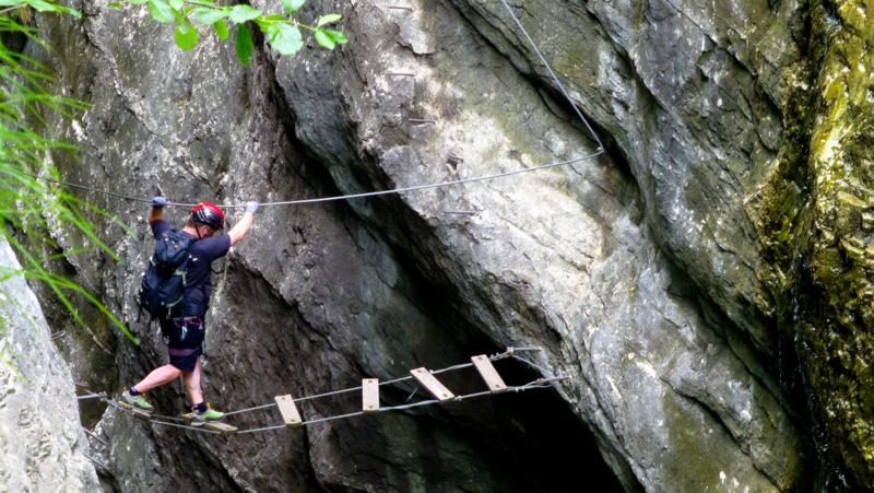 Postalm Klettersteig F Variante : Die schönsten klettersteige um salzburg bergwelten