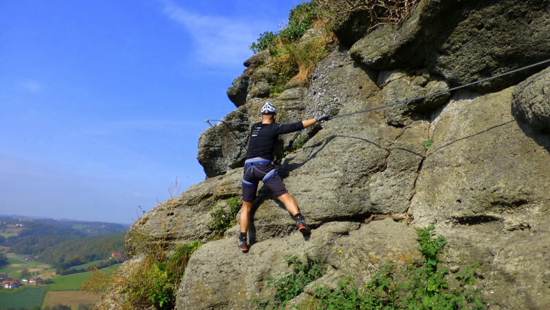 Klettersteig Riegersburg : Leopold heinrich u klettersteig zur riegersburg c variante d