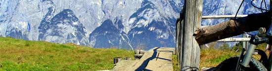 Auf die Ostpreußenhütte 1668 m