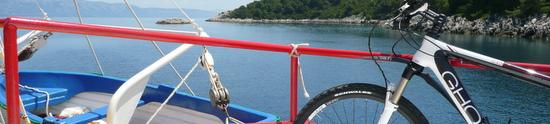 Inselhüpfen mit Rad & Schiff in Kroatien