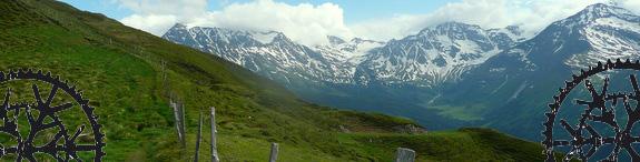 Bike & Hike über die Seebachscharte nach Rauris & retour über die Stanzscharte nach Gastein