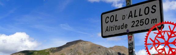 Von Barcelonnette auf den Col d'Allos