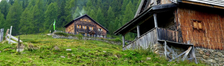 Auf die Polinikhütte bei Obervellach