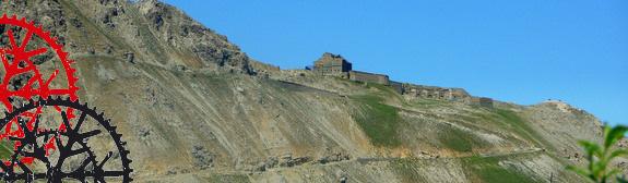 Auf das Fort Janus und über 90 Kehren nach Briancon