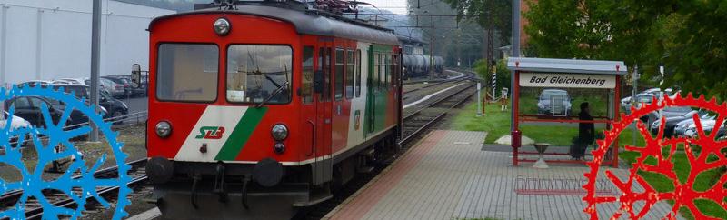 Radtour – Dschungelexpress 1 – Bad Gleichenberg – Feldbach und retour