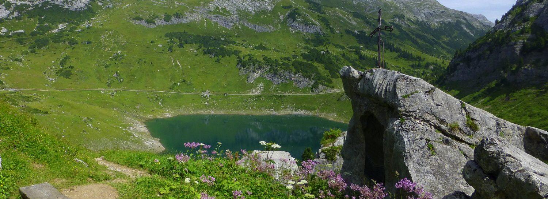 Formarinsee und Spullersee am Arlberg